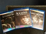 RAMBO,FIRST BLOOD,FIRST BLOOD 2,& RAMBO 3 BLUE RAY BOX SET